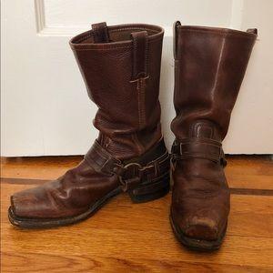 Rare Frye Harness Buckle Boot